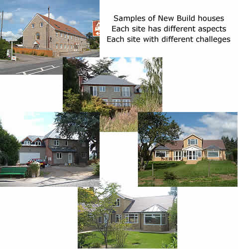 Examples of New Build projects.